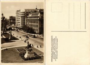 CPA AK BUCURESTI Piata Universitatii ROMANIA (504433)