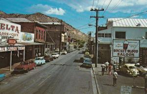 VIRGINIA CITY , Nevada , 50-60s ; C Street