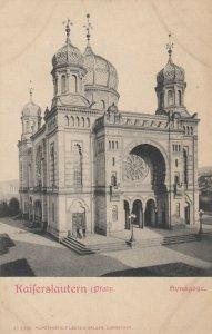 KAISERLAUTERN (Pfalz), Germany, 1900-10s ; Synagoge