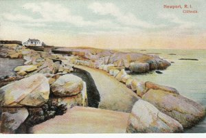 NEWPORT, Rhode Island, 1900-10s; Cliffwalk