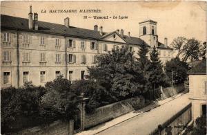 CPA La Haute-SAONE illustrée - VESOUL - Le Lycée (452284)