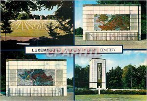 Postcard Modern Luxembourg American Military Cemetery Army