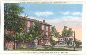 Historic Walker Taverns Cambridge Jct. Brooklyn Michigan, Linen