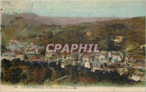 Old Postcard La Bourboule Fenestre View