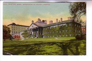 General Hospital, Boston Massachusetts, Mason Bros & Co, Flag Cancel