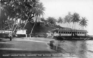 Ceylon, Mount Lavinia Hotel, Showing the Bathing Pavilion