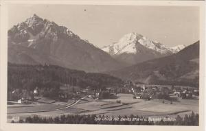 Austria Igls mit Serles und Habicht Real Photo