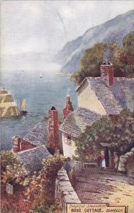 England Clovelly Rose Cottage