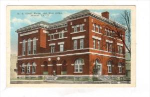 U. S. Court House & Post Office, Monroe, Louisiana, 1900-1910s