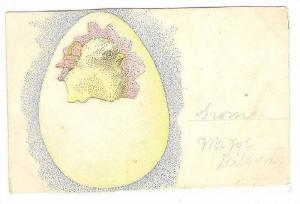 ADV (Inside)- D'Ancona & Company, Bi-fold, Chick Coming Out Of Egg, Chicago, ...