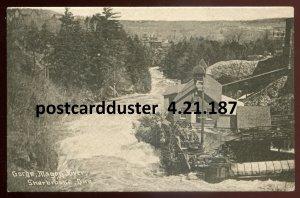 187 - SHERBROOKE Quebec Postcard 1913 Magog River Gorge