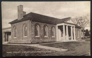Mary Cheney Library, Manchester, Conn. 1948 The Collotype Co.