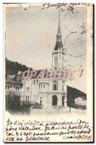 Postcard Old Domremy Basilica