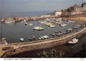 Tenby Pembrokeshire The Harbour Boats Port