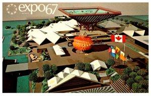 Canada  Montreal  Expo 67  Canada's  Pavilion