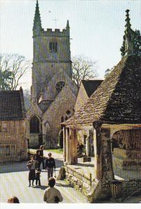England St Andrews hurch and Market Cross Castle Combe