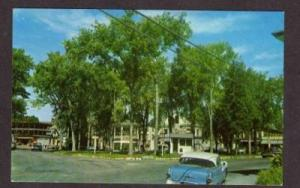 NH City Square Homes WHITEFIELD NEW HAMPSHIRE POSTCARD