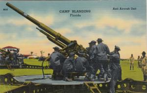 CAMP BLANDING, Florida, PU-1942; Anti Aircraft Unite