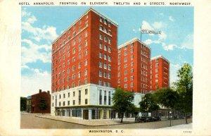 DC - Washington. Hotel Annapolis
