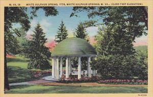 White Sulphur Spring 1778 White Sulphur Springs West Virginia