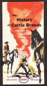 The History of Cattle Brands – Carter Oil Company – 1955