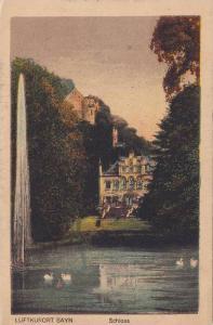 Lufkurort Sayn, Schloss, Rhineland, Germany, 10-20s