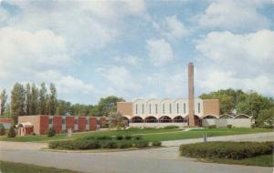 SCHLESWIG IOWA UNITED CHURCH OF CHRIST-EVAGELICAL PEACE CHURCH POSTCARD 1960s