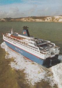 P&OSL Provence P&O Stena Dover Calais Ferry Rare Postcard