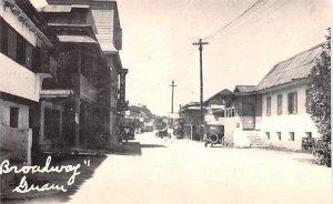 Broadway Agana Guam Unused
