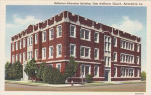 Religious Education Building , First Methodist Church , ALEXANDRIA , Louisian...