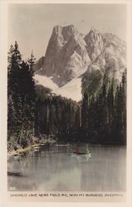 RP, Boating, Emerald Lake Near Field, With Mt. Burgess, Field, B.C., Canada, ...