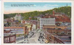 Arkansas Hot Springs Central Avenue From Como Hotel