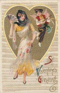John Winsch 1912, VALENTINE ; Samuel Schmucker: Female & Cherub