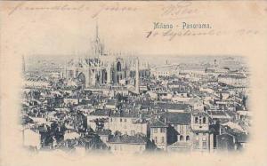 Panorama of Milano, Lombardia, Italy, PU