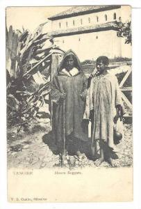 Moors Beggars, Tangier, Morocco, Africa, 1900-1910s