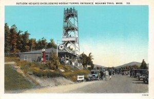 LPS67 Mohawk Trail Massachusetts Outlook Heights Hoosac Tunnel Postcard