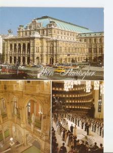 Postal 031666 : Vienna (Austria). The Opera-House