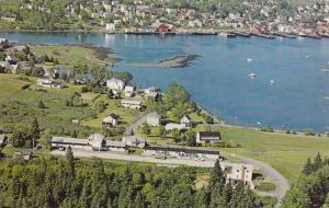 Scenic view of Lunenburg Harbour, Topmast Motel,  Lunenburg,  N.S.,   Canada,...