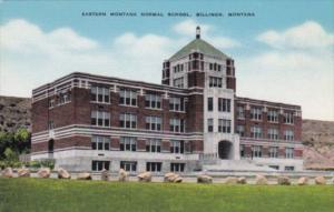 Montana Billings Eastern Montana Normal School
