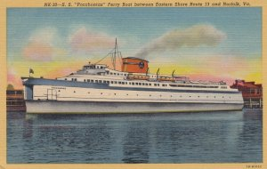 S.S. Pocahontas Ferry Boat , Virginia , 30-40s