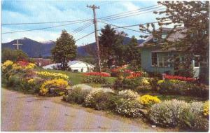 One of the Flower Gardens in Prince Rupert British Columbia