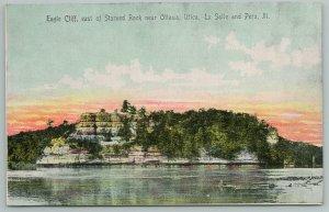La Salle-Peru IL~Elegant Eagle Cliff E Of Starved Rock Above Illinois River~1910