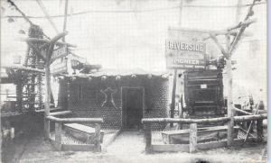 SAN BERNARDINO,  CA California  ORANGE SHOW Riverside Exhibit  1913  Postcard