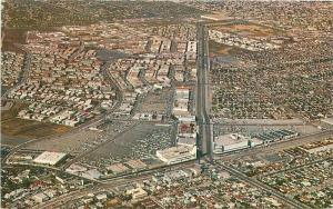 Airview Crenshaw Shopping Los Angeles California Postcard Colorpicture 5569