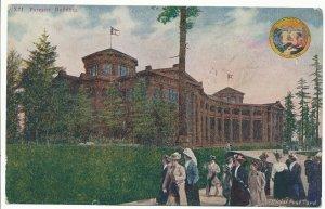 # X71 Forestry Building 1909 Alaska Yukon Pacific Exposition Seattle WA