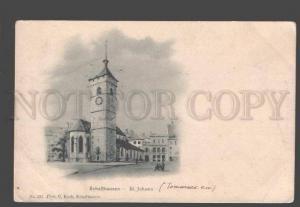 086746 SWITZERLAND Schaffhausen St.Johan Vintage PC