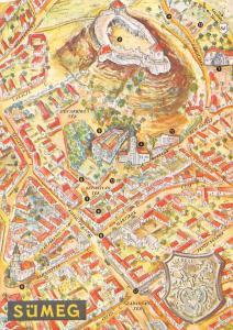 Hungary Sumeg Map Ferences Templom Idegenforgalmi Hivatal Barokk Istallo Muzeum
