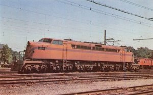 South Shore Little Joe Electric Railroad Train Michigan City Indiana postcard