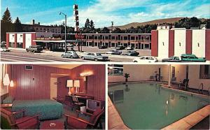 Bel Aire Motel Missoula Montana MT 300 East Broadway