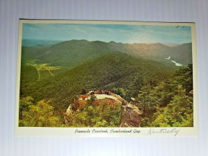 Vintage Postcard Pinnacle Overlook Cumberland Gap Kentucky Virginia Tennessee 84